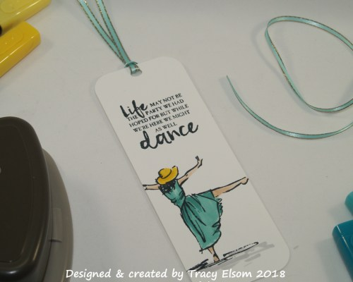 BM192 Dancer Bookmark