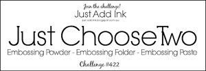 Logo for Just Add Ink challenge JAI422 (Aug 17 - 22, 2018)