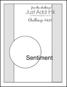 Just Add Ink sketch challenge #421