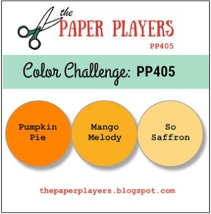The Paper Players papercraft colour challenge PP405 (Aug 12 - 17, 2018)