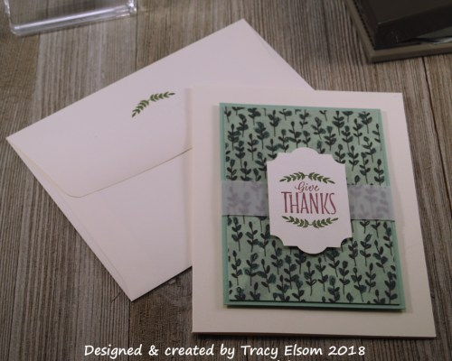 1588 Give Thanks Card