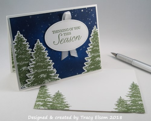 1600 Thinking Of You This Season Card
