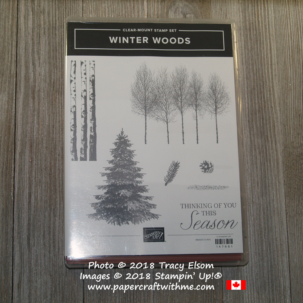 Winter Woods Stamp Set from Stampin' Up!