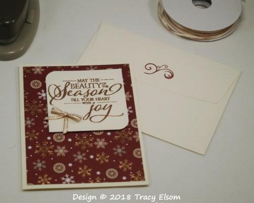 1607 Beauty Of The Season Card