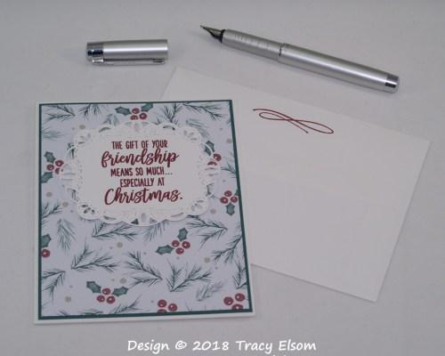 1617 Christmas Friendship Card