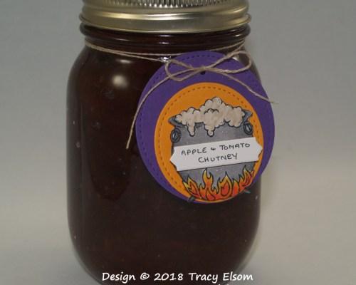 Cauldron Bubble Jar Tag