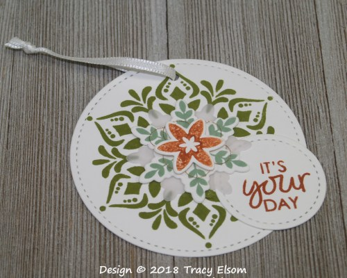 It's Your Day Layered Gift Tag