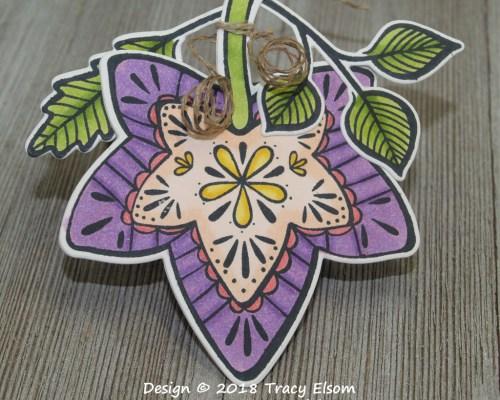 Leaf Gift Tag