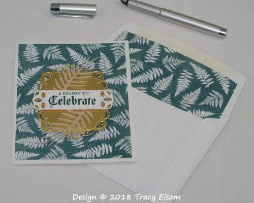 1635 Fern Celebration Card
