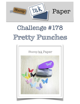 Stamp Ink Paper design challenge SIP178 - Pretty Punches (Nov 27 to Dec 2, 2018)