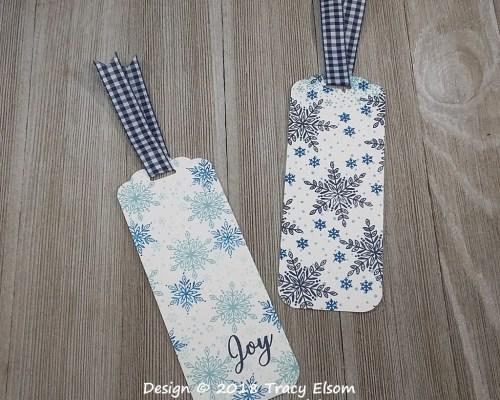 BM203 & BM204 Snowflake Bookmarks