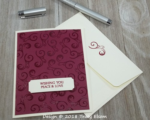 1671 Peace & Love Card