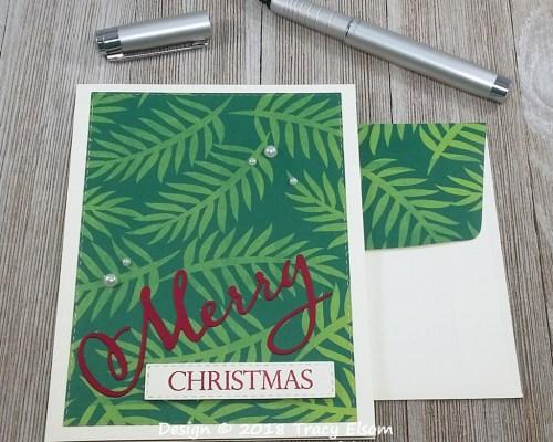 1672 Merry Christmas Card