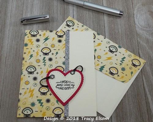 1658 You Jump Start My Heart Card