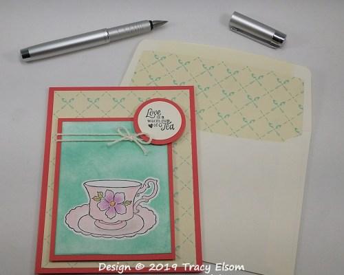 1700 Cup of Tea Card