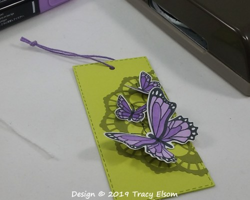 Butterflies Gift Tag