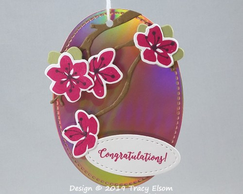Colourful Congratulations Tag