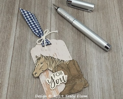 Country Livin' Gift Tag