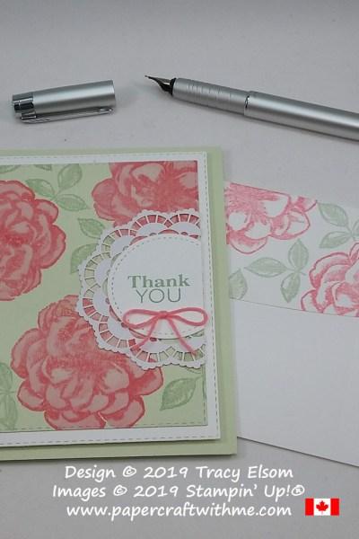 Paper Pumpkin Sentimental Rose