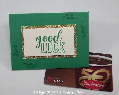GC198 Good Luck Gift Card Envelope
