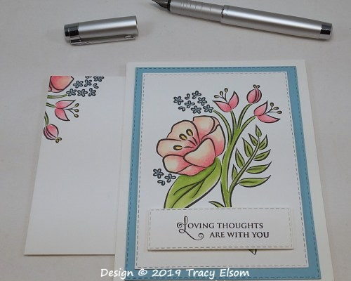 P42 Floral Thoughts Card