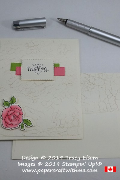 Mother's Day card created using the Tea Together Stamp Set and coordinating Tea Time Dies from Stampin' Up!