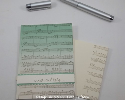 1760 Music Note Card