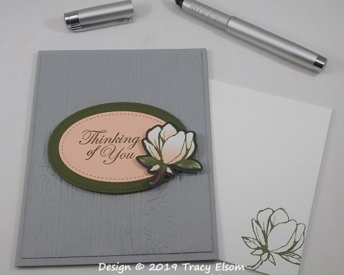 1774 Magnolia Thinking of You Card