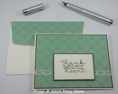 1775 Garden Lane Thank You Card