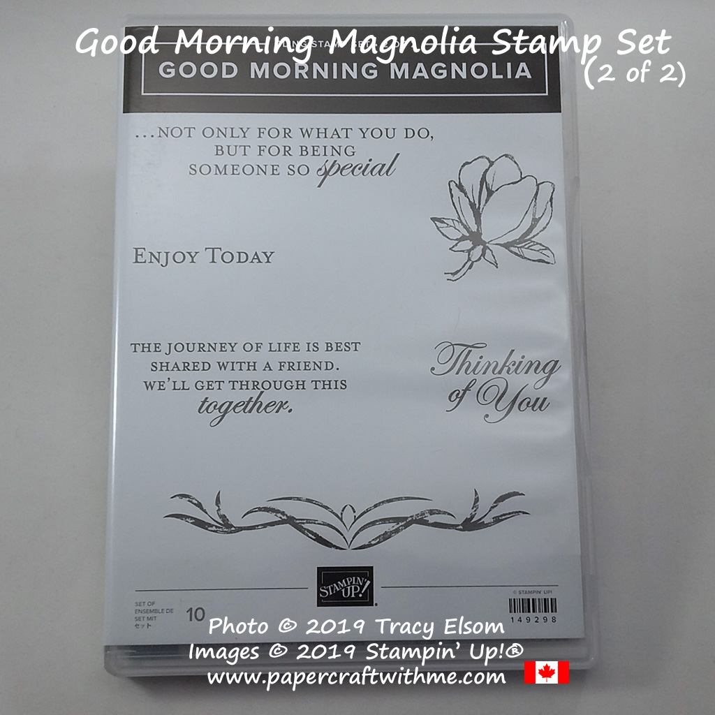 Good Morning Magnolia Stamp Set from Stampin' Up! (part 2 of 2)