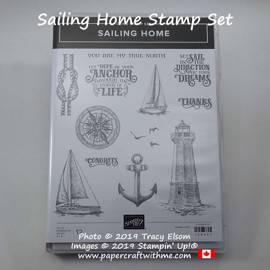 Sailing Home Stamp Set from Stampin' Up!