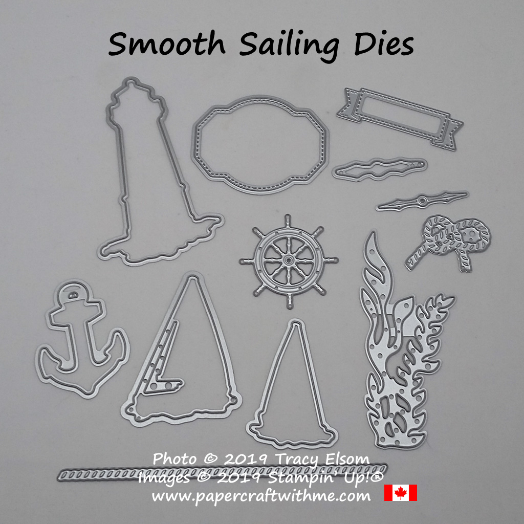Smooth Sailing Dies from Stampin' Up!