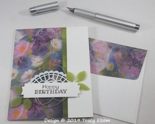 1779 Birthday Perennials Card