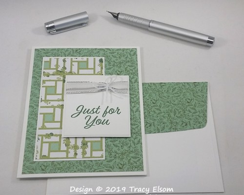 1783 Just For You Card