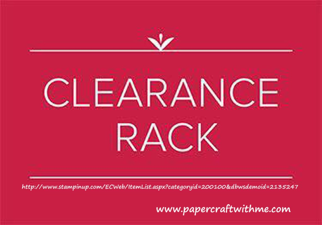 Get selected Stampin' Up! products up to 60% off in Canada.