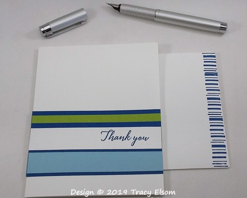 1806 Barcode Thank You Card