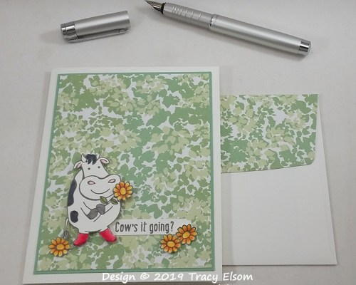 1814 Cow's It Going? Card
