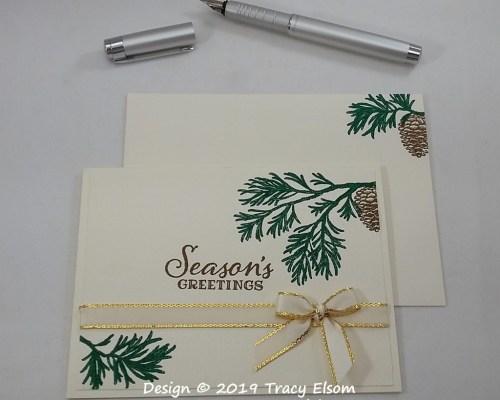 1829 Season's Greetings Card