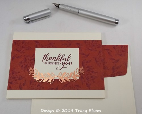 1831 Thankful For Friends Like You Card