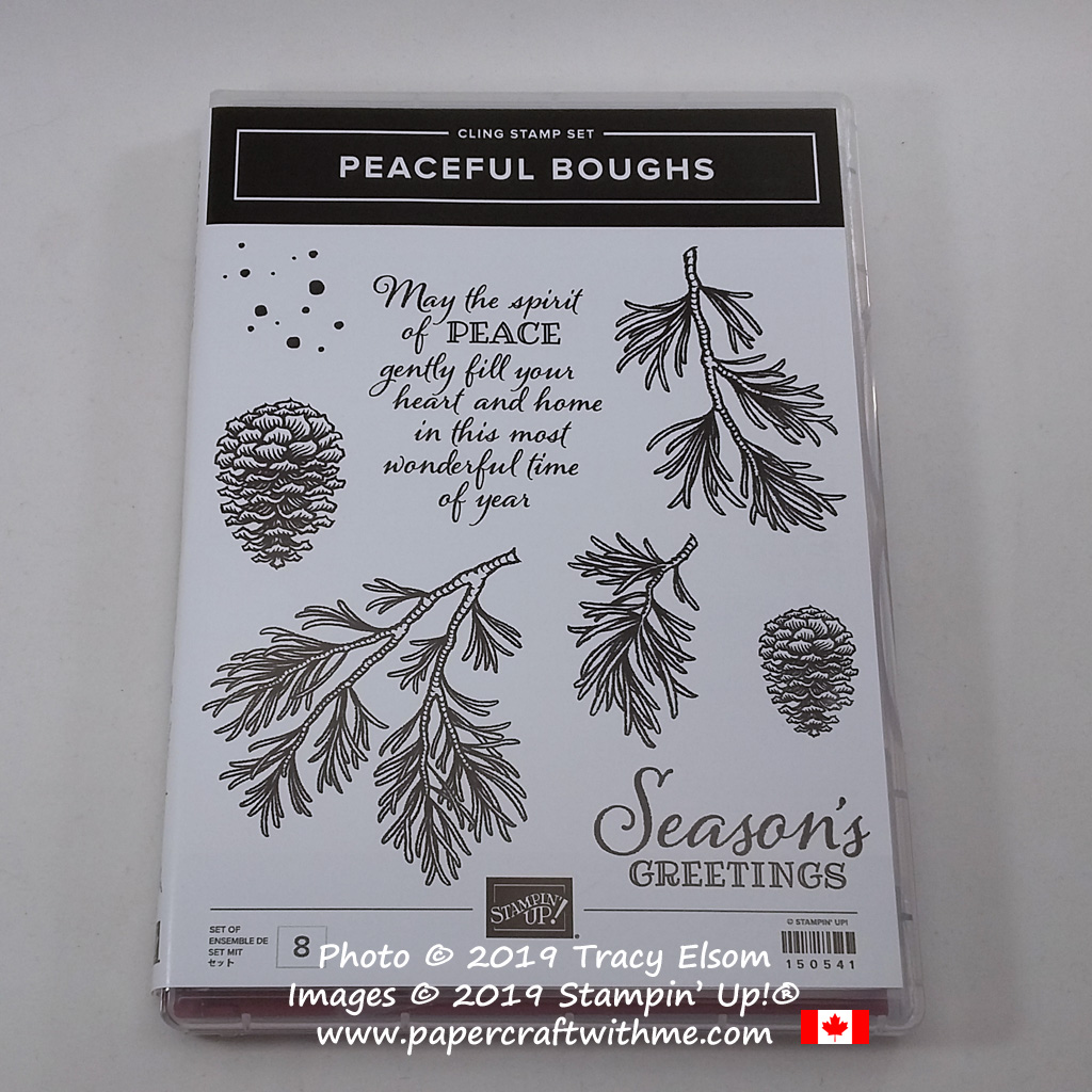 Peaceful Boughs Stamp Set from Stampin' Up! #papercraftwithme