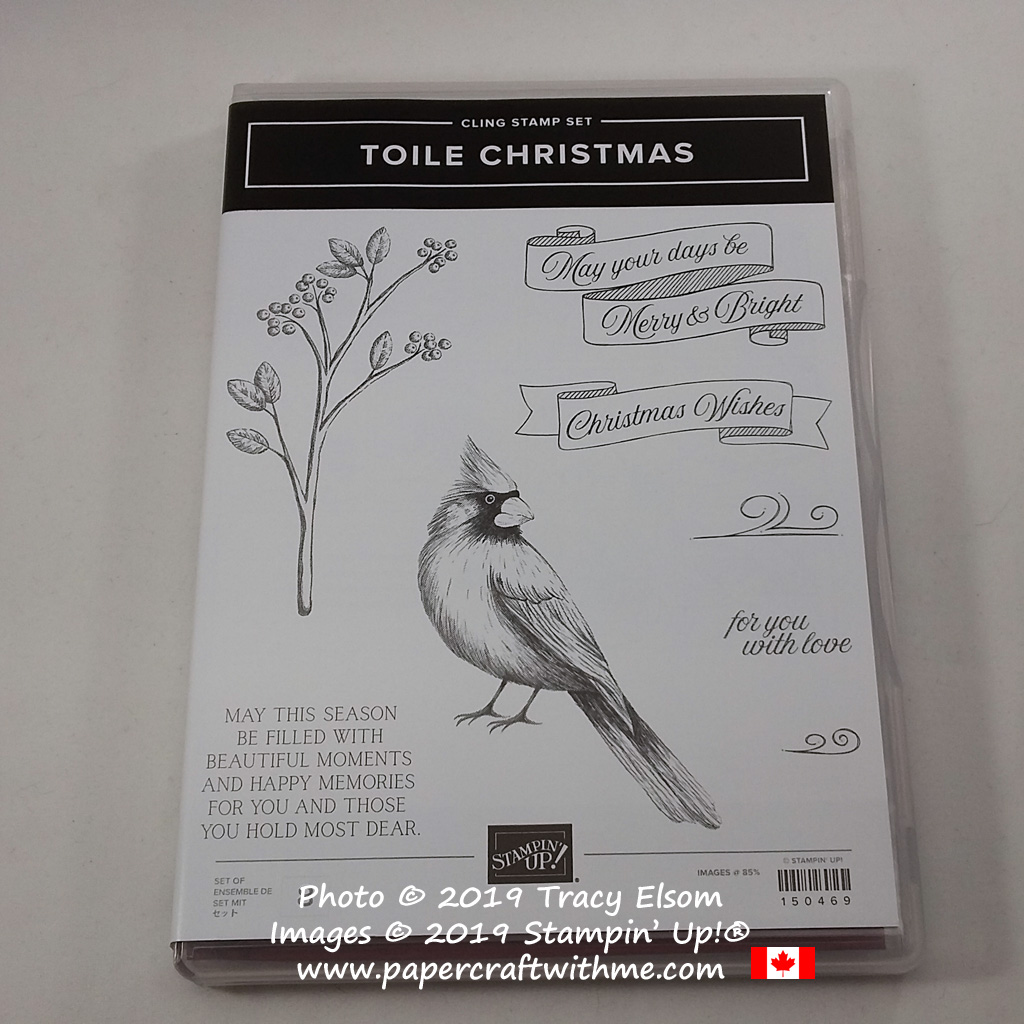 Toile Christmas Stamp Set from Stampin' Up! #papercraftwithme
