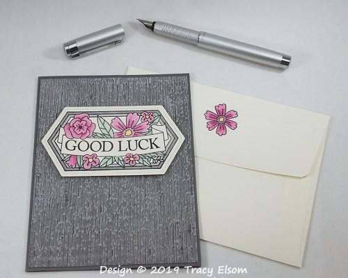1852 Good Luck Card