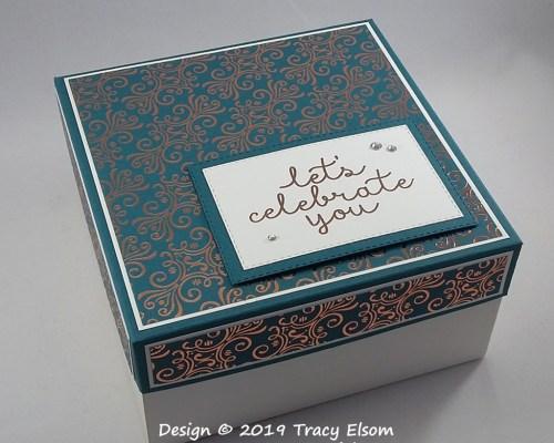 BB54 6″x6″x3″ Let's Celebrate You Box
