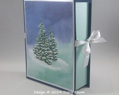 BB55 Winter Woods Book Style Box