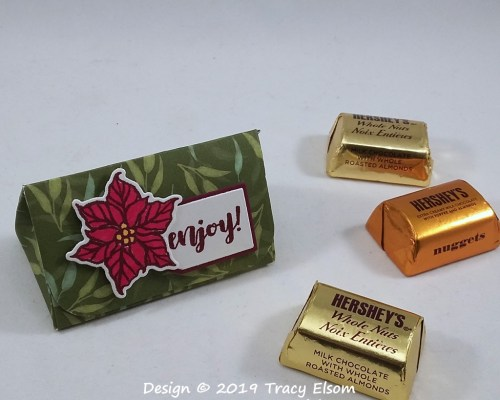 P94 Hershey's Nuggets Triangle Favor Box