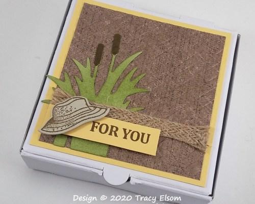 BB61 Coastal Weave Pizza Box