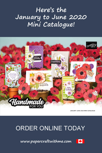 Browse the Stampin' Up! January to June 2020 Mini Catalogue