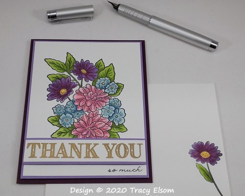 1940 Thank You So Much Card