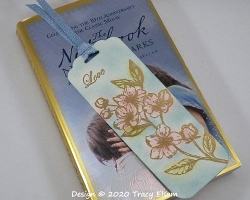 BM287 Love Blossoms Bookmark