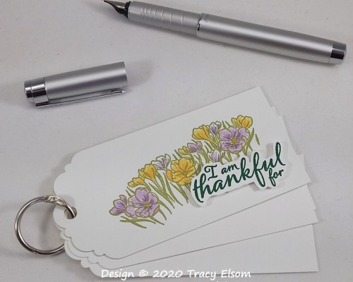 P103 Ring Of Tags Thankful Reminder